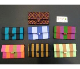 판매_캄보디아 전통무늬 카드지갑(캄보디아 실크)