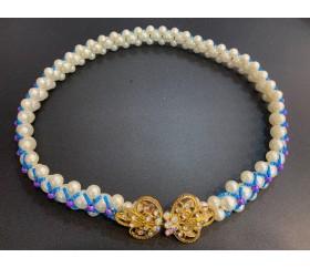판매_몽골_진주허리띠(70cm)