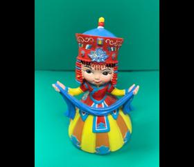 판매_몽골_전통의상인형(7cm)