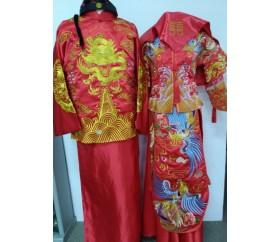 판매_중국_전통결혼식의상_남녀세트