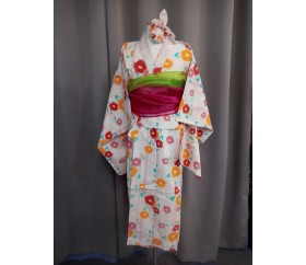 판매_일본_유카타_아동(여, 130cm)