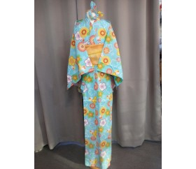 판매_일본_유카타_아동(여, 150cm)